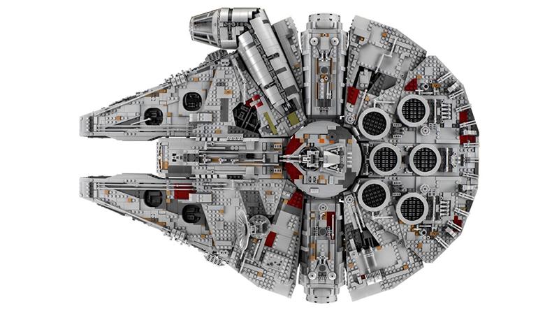 LEGO Star Wars 75192 Millennium Falcon featured 800 445