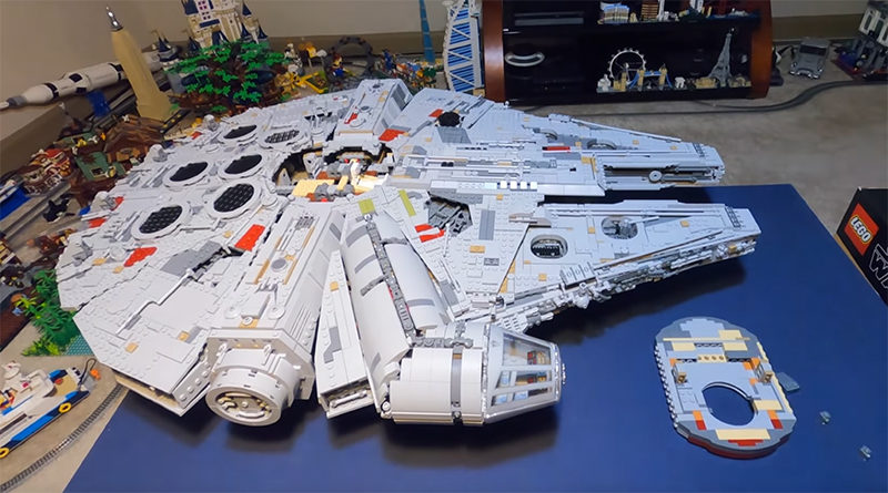 LEGO Star Wars 75192 Millennium Falcon Stop Motion Featured 800x445
