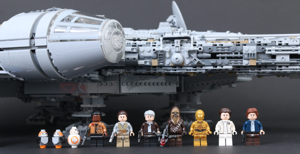 LEGO Star Wars 75192 UCS Ultimate Collectors Series Millennium Falcon review 64