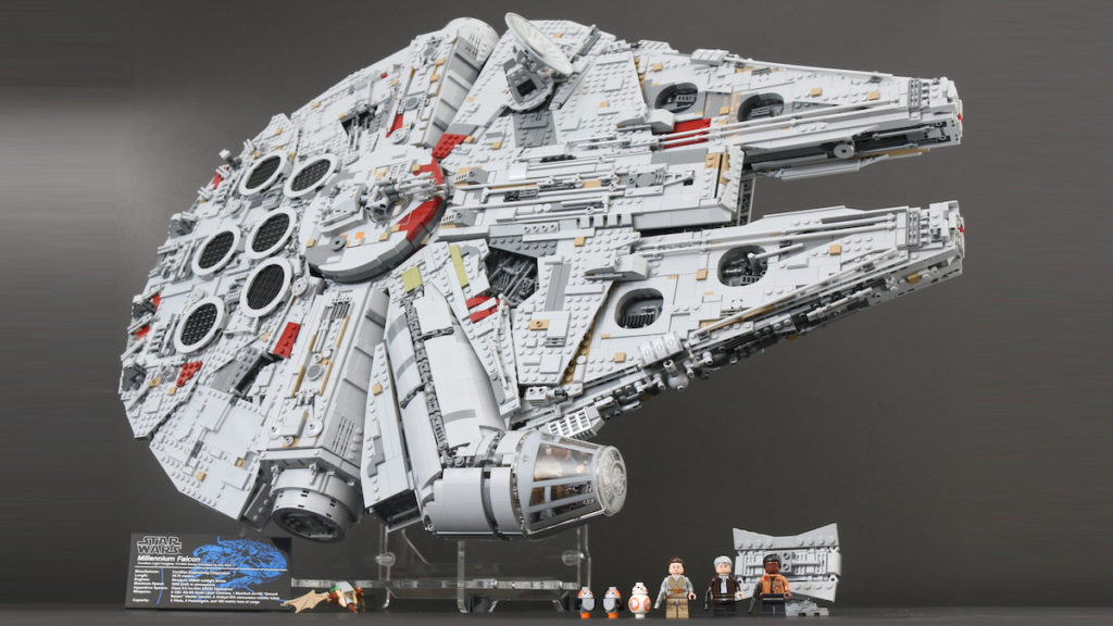 LEGO Star Wars 75192 UCS Ultimate Collectors Series Millennium Falcon review title 1200x675 1
