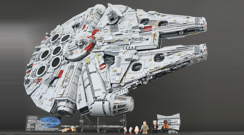 LEGO Star Wars 75192 UCS Ultimate Collectors Series Millennium Falcon review title