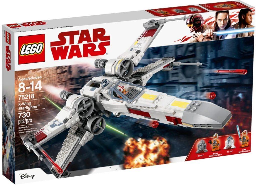 LEGO Star Wars 75218 X wing Starfighter