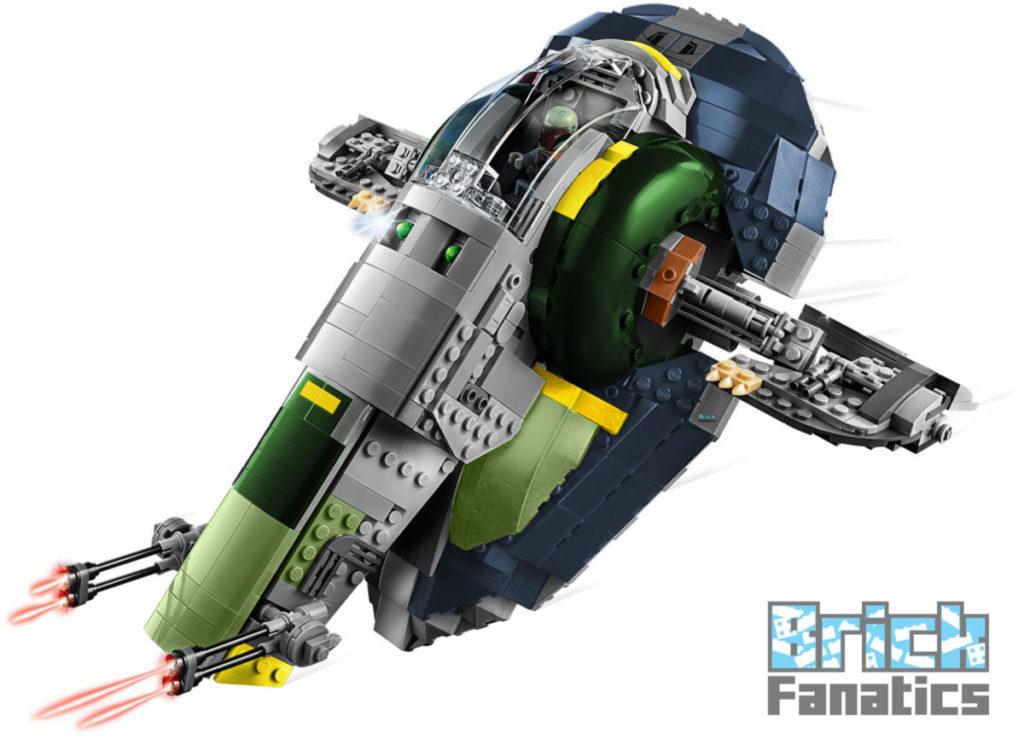 LEGO Star Wars 75243 Slave I JANGO FETT WM
