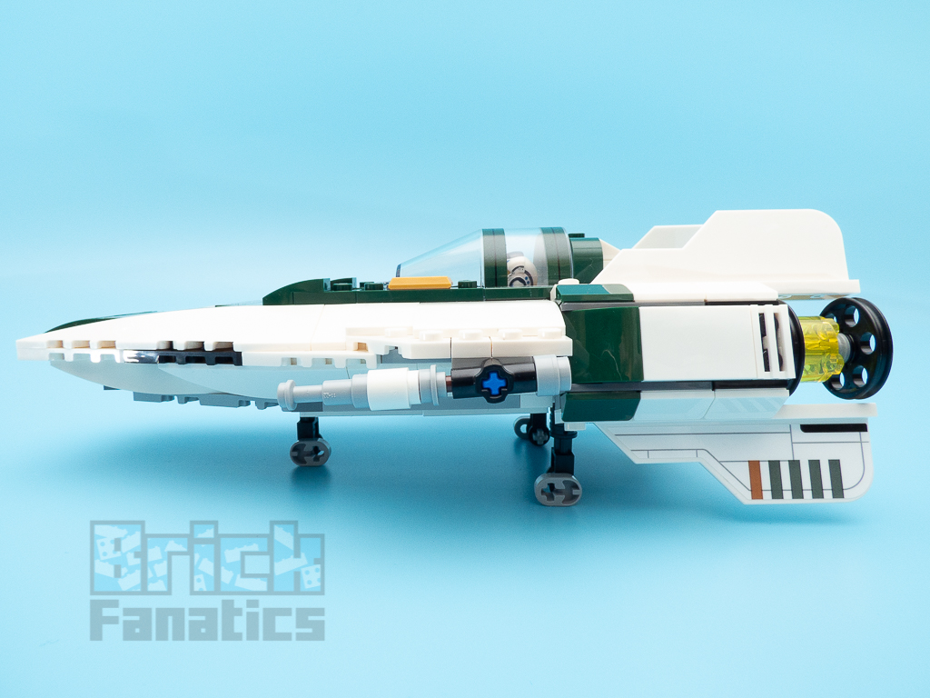 LEGO Star Wars 75248 Resistance A Wing Starfighter 13