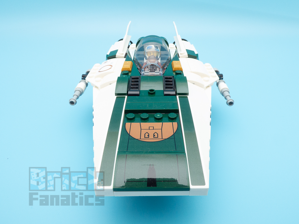 LEGO Star Wars 75248 Resistance A Wing Starfighter 3