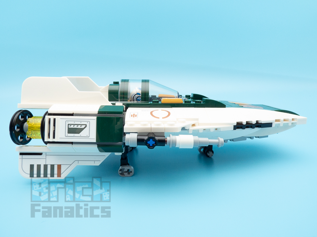 LEGO Star Wars 75248 Resistance A Wing Starfighter 9 1