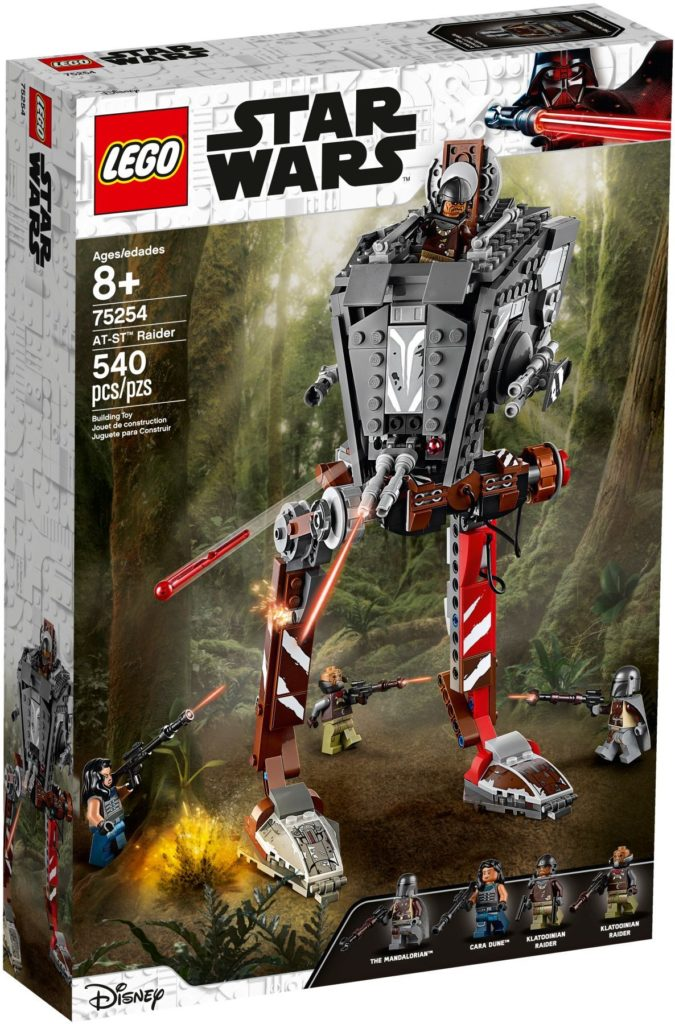 LEGO Star Wars 75254 AT ST Raider 1-ში