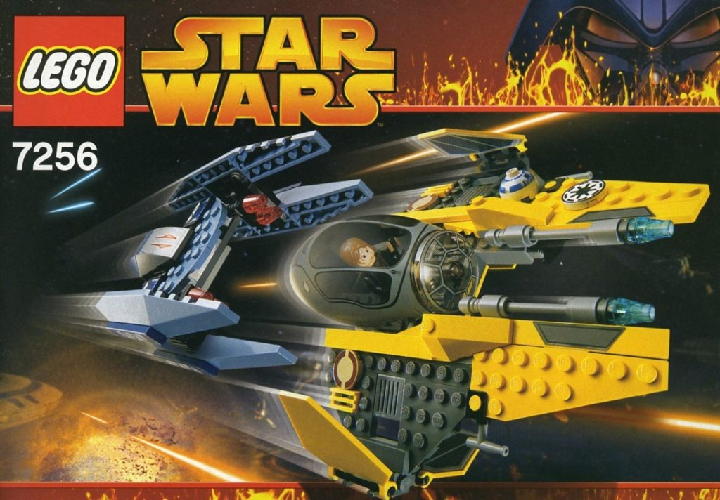 LEGO Star Wars 7526 Jedi Starfighter and Vulture Droid