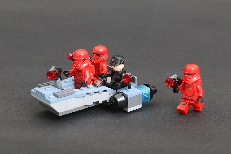 LEGO Star Wars 75266 Sith Troopers Battle Pack Review 1