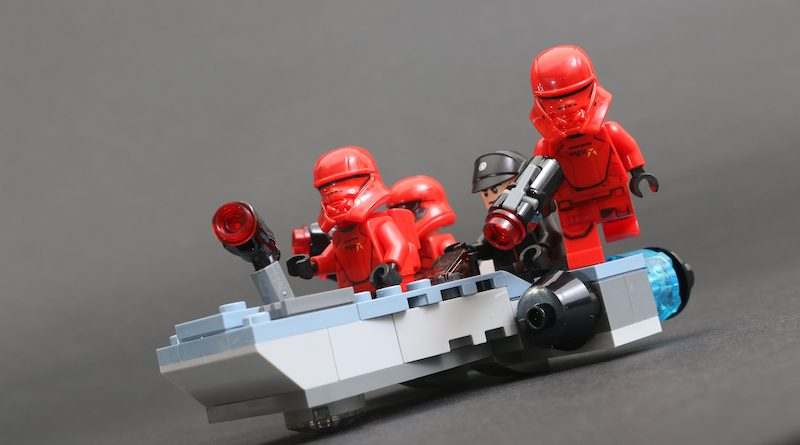 LEGO Star Wars 75266 Sith Troopers Battle Pack review title