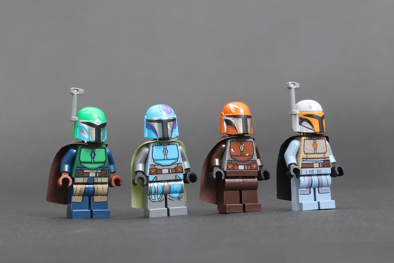LEGO Star Wars 75267 Mandalorian Battle Pack Review 1