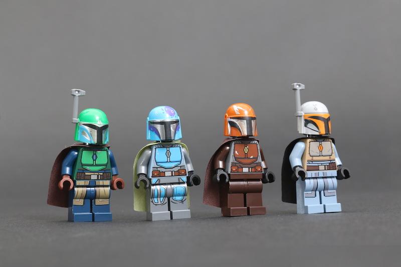 LEGO Star Wars 75267 Mandalorian Battle Pack review 1