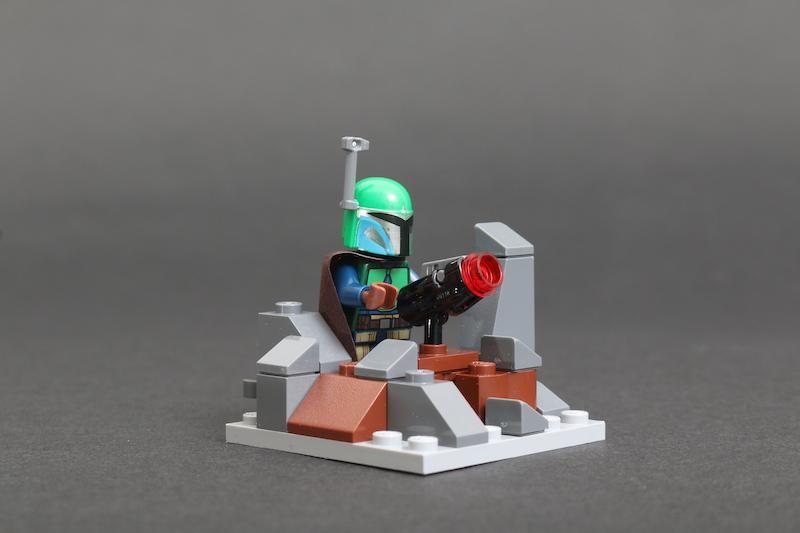 LEGO Star Wars 75267 Mandalorian Battle Pack review 14