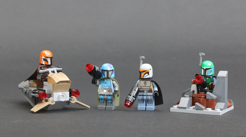 LEGO Star Wars 75267 Mandalorian Battle Pack Review Title