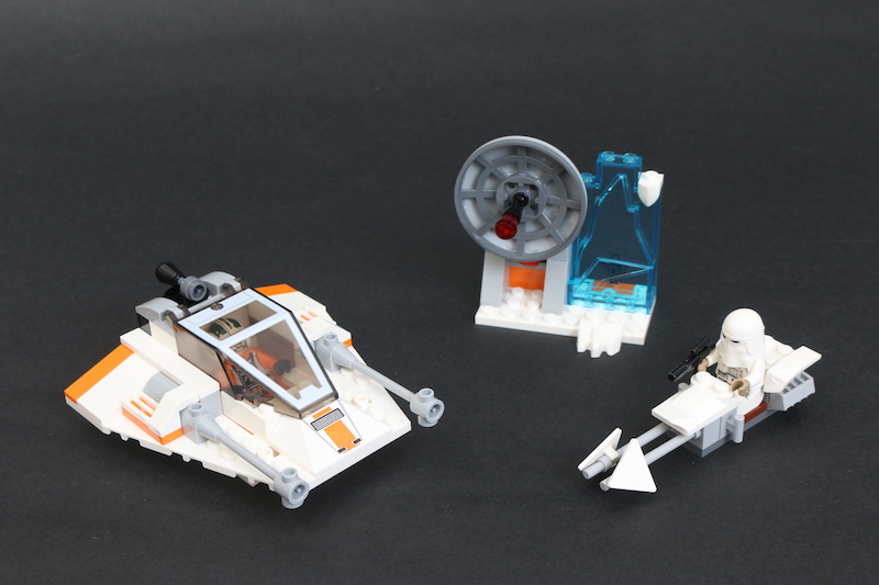 LEGO Star Wars 75268 Snowspeeder Review 1