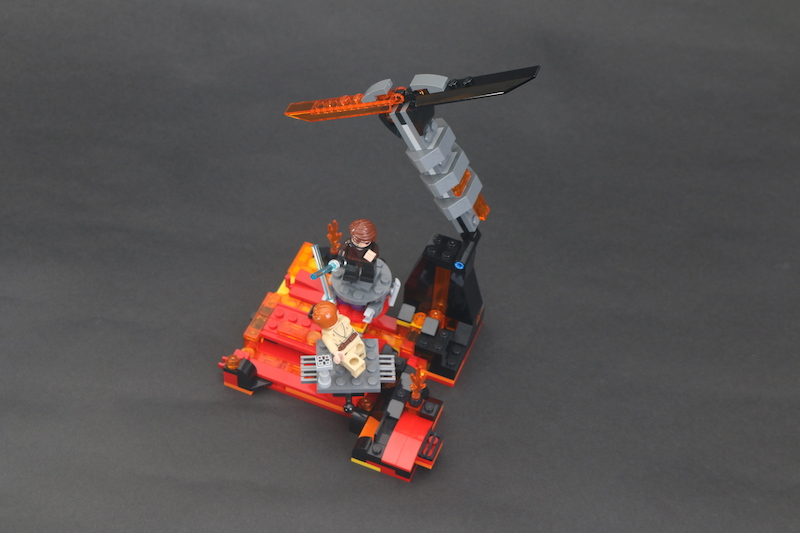 LEGO Star Wars 75269 Duel On Mustafar Review 10