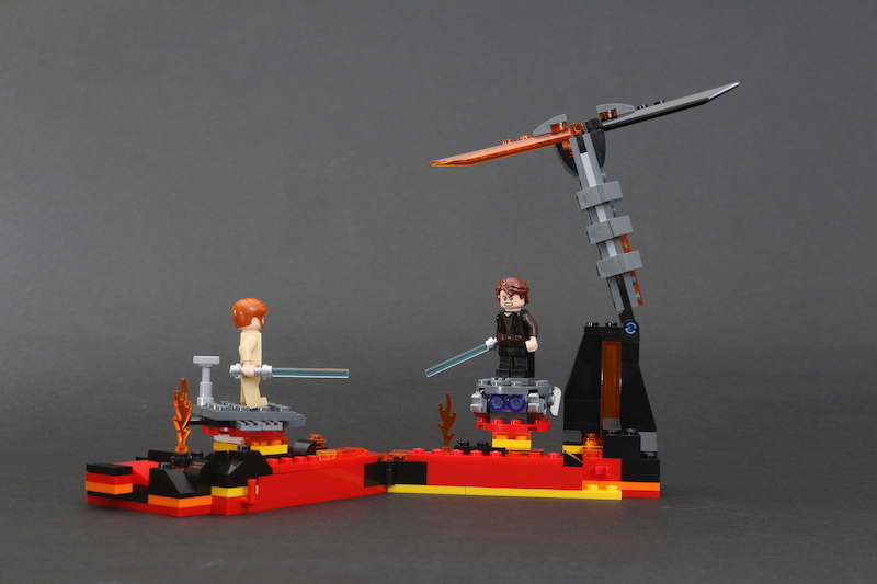 LEGO Star Wars 75269 Duel On Mustafar Review 11