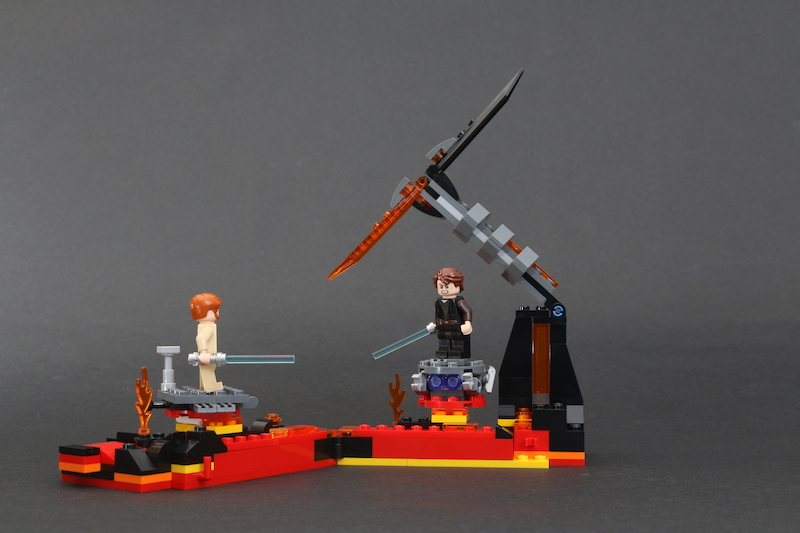 LEGO Star Wars 75269 Duel On Mustafar Review 12