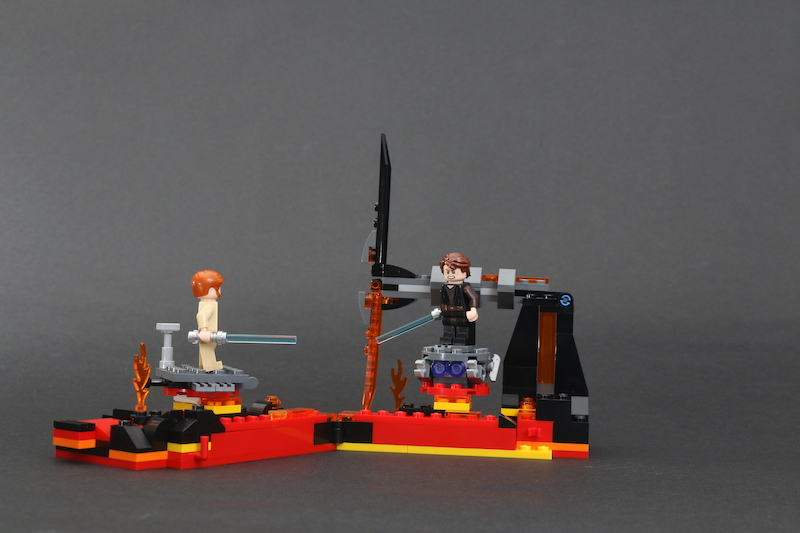 LEGO Star Wars 75269 Duel On Mustafar Review 13