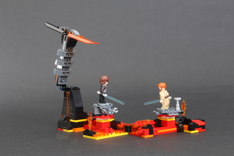 LEGO Star Wars 75269 Duel On Mustafar Review 19