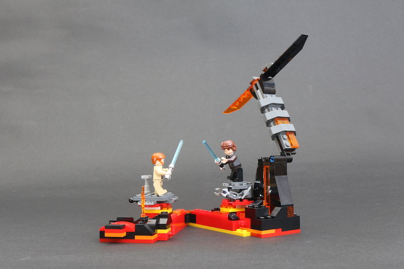 LEGO Star Wars 75269 Duel On Mustafar Review 6