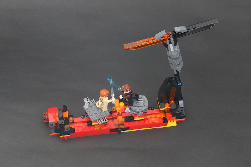 LEGO Star Wars 75269 Duel On Mustafar Review 8