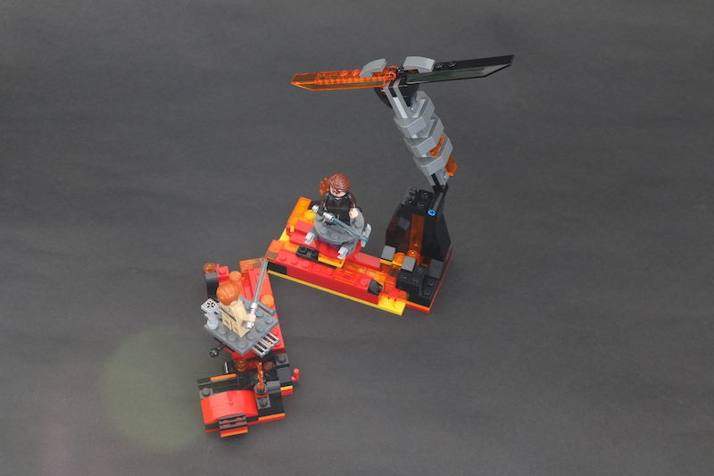 LEGO Star Wars 75269 Duel On Mustafar Review 9