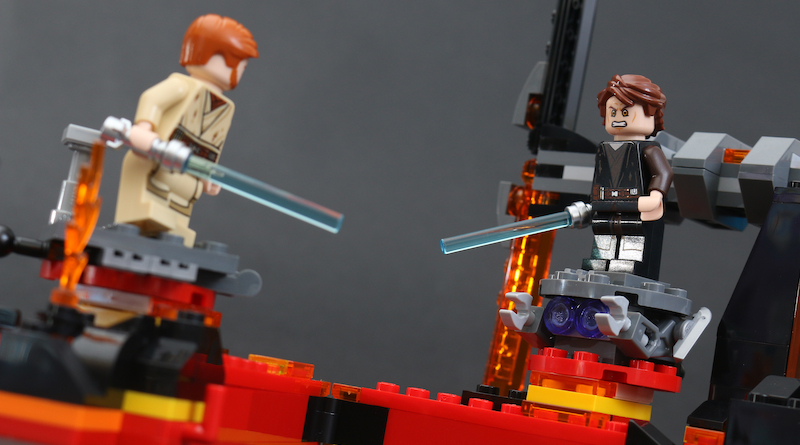 LEGO Star Wars 75269 Duel On Mustafar Review Title