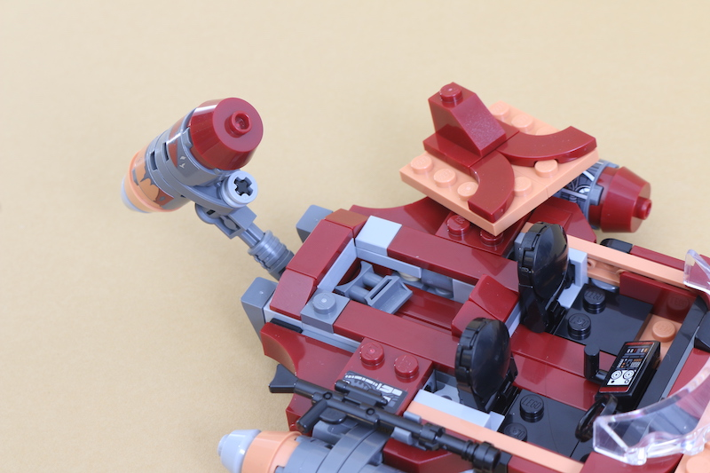 LEGO Star Wars 75271 Luke Skywalker's Landspeeder Review 11