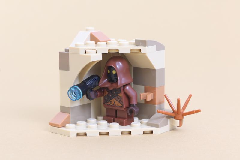 LEGO Star Wars 75271 Luke Skywalker's Landspeeder Review 2