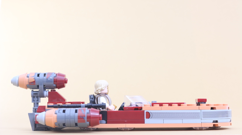 LEGO Star Wars 75271 Luke Skywalker's Landspeeder review title