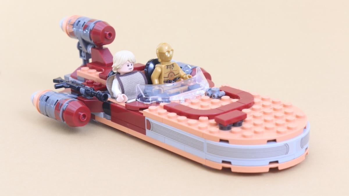 LEGO Star Wars 75271 Luke Skywalkers Landspeeder Review Featured Resized