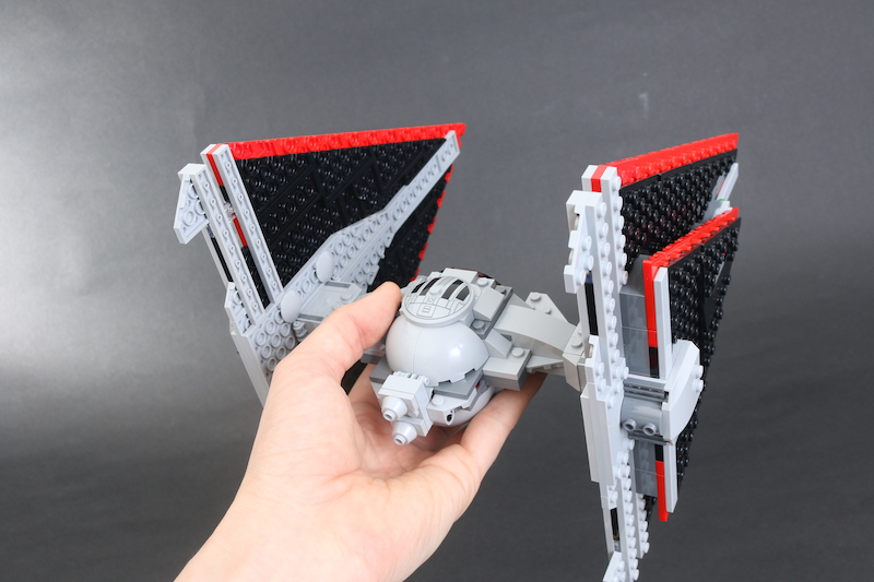LEGO Star Wars 75272 Sith TIE Fighter Review 18
