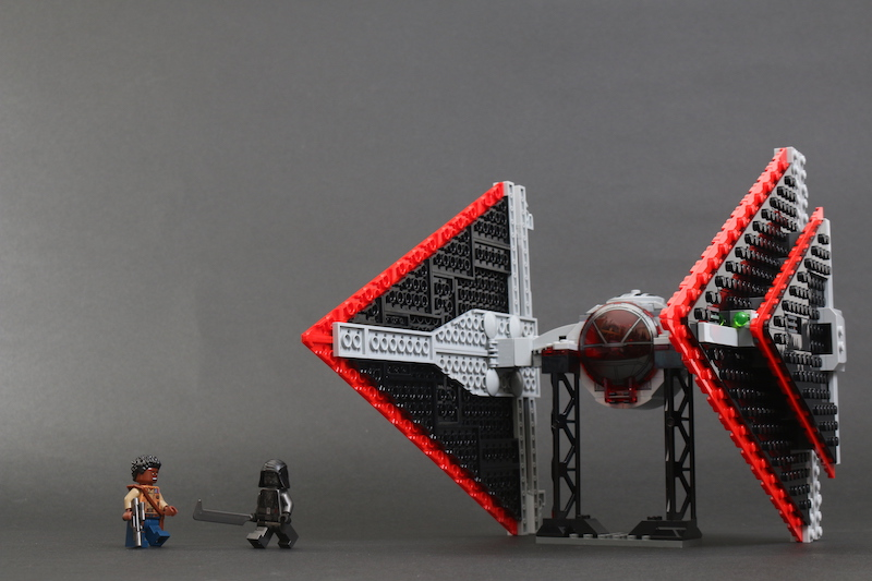 LEGO Star Wars 75272 Sith TIE Fighter Review Main