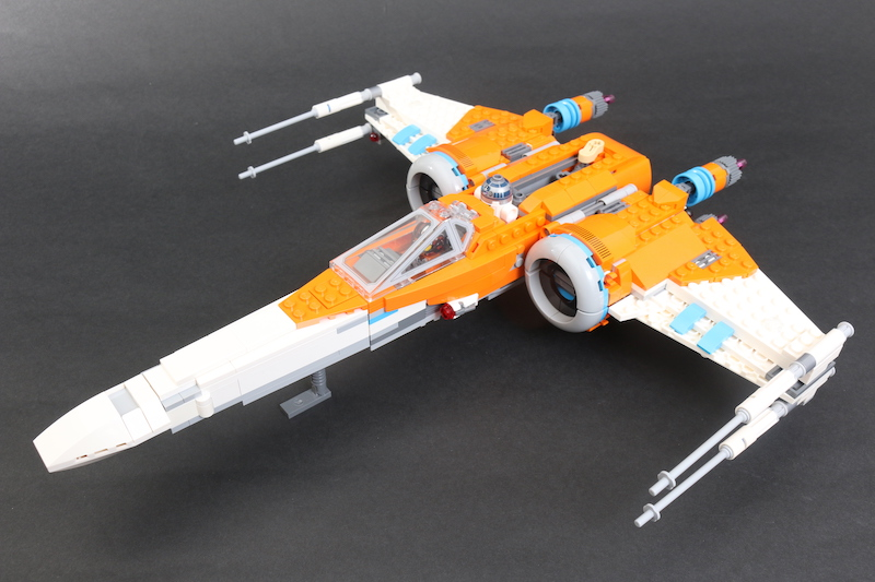 LEGO Star Wars 75273 Poe Dameron's X Wing Fighter Review 16 1