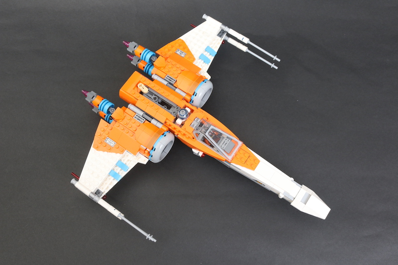 LEGO Star Wars 75273 Poe Dameron's X Wing Fighter Review 22 1