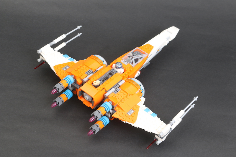 LEGO Star Wars 75273 Poe Dameron's X Wing Fighter Review 23 1