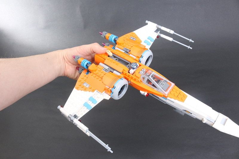 LEGO Star Wars 75273 Poe Dameron's X Wing Fighter Review 24