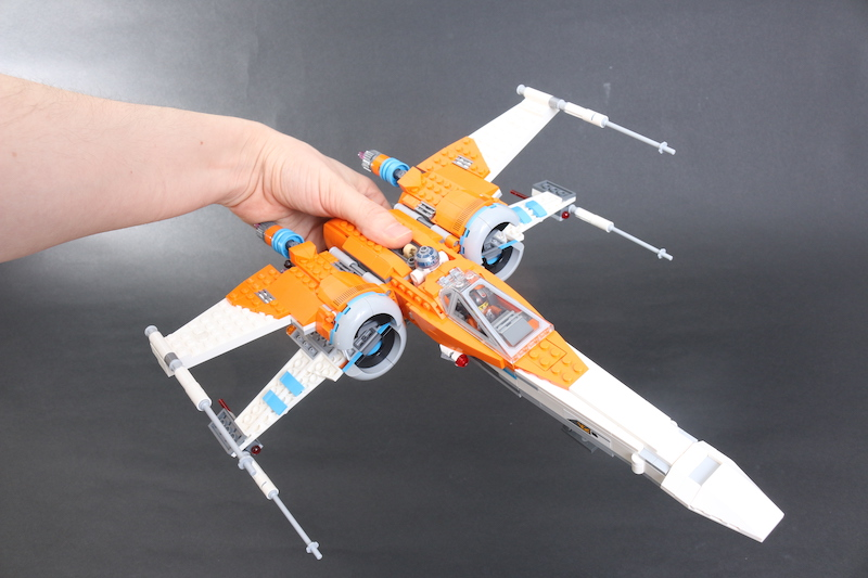 LEGO Star Wars 75273 Poe Dameron's X Wing Fighter Review 25