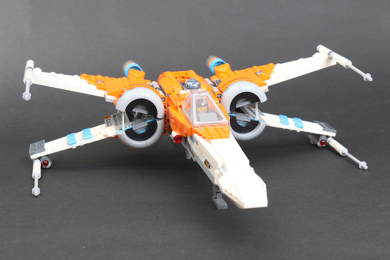 LEGO Star Wars 75273 Poe Dameron's X Wing Fighter Review 30