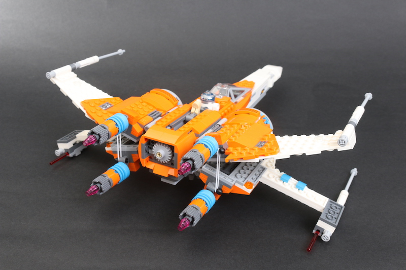 LEGO Star Wars 75273 Poe Dameron's X Wing Fighter Review 33 1