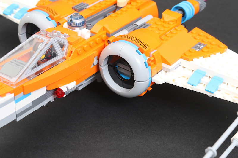 LEGO Star Wars 75273 Poe Dameron's X Wing Fighter Review 38