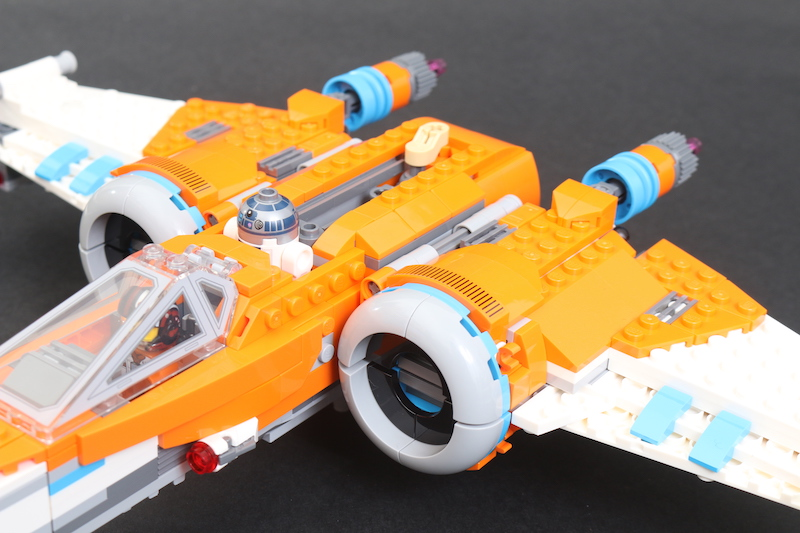 LEGO Star Wars 75273 Poe Dameron's X Wing Fighter Review 39