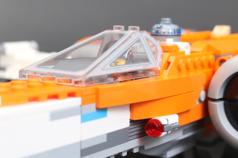 LEGO Star Wars 75273 Poe Dameron's X Wing Fighter Review 42
