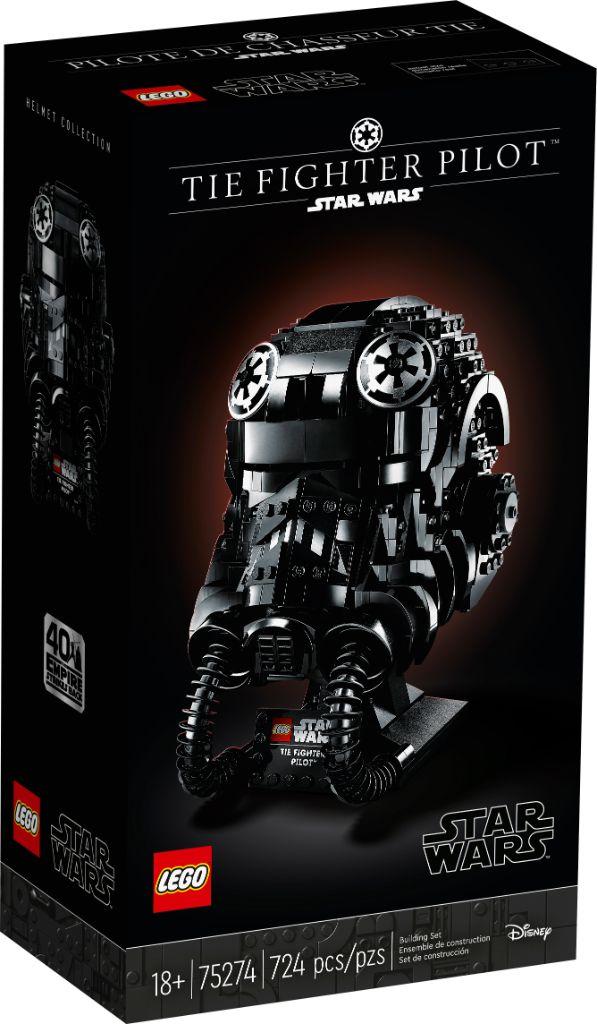 LEGO Star Wars 75274 TIE Fighter Helmet 1