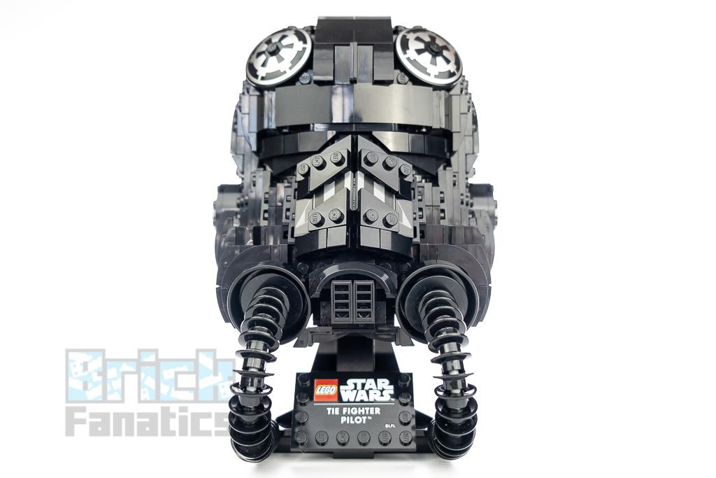 LEGO Star Wars 75274 TIE Fighter Pilot Helmet 1