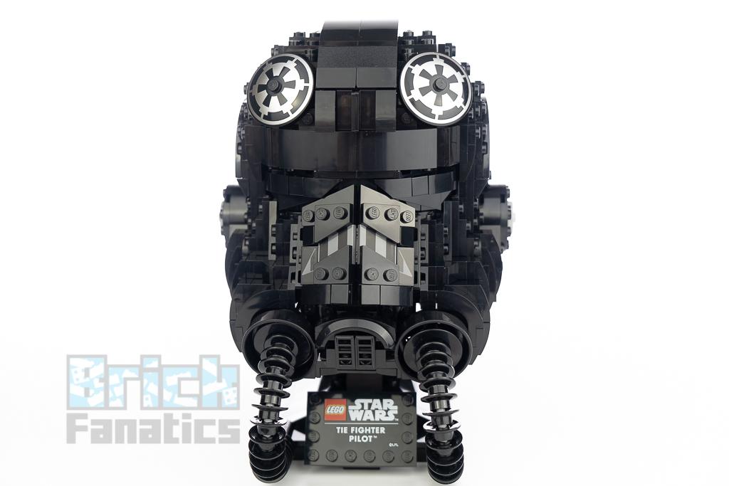 LEGO Star Wars 75274 TIE Fighter Pilot Helmet 14