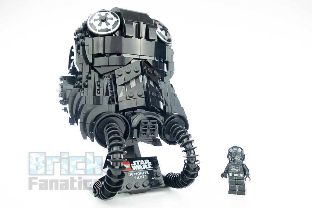 LEGO Star Wars 75274 TIE Fighter Pilot Helmet 16