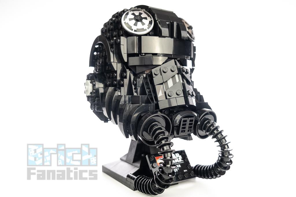 LEGO Star Wars 75274 TIE Fighter Pilot Helmet 2