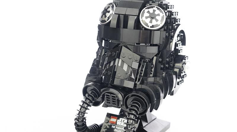 LEGO Star Wars 75274 TIE Fighter Pilot Helmet Featured 1